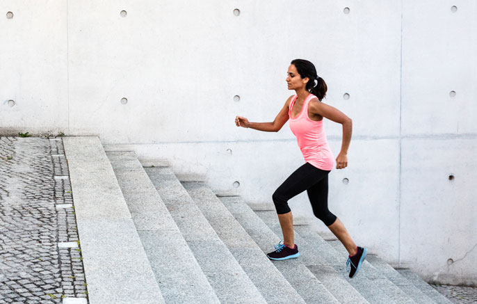 Running Jogging Stairs Irvine Personal Trainer